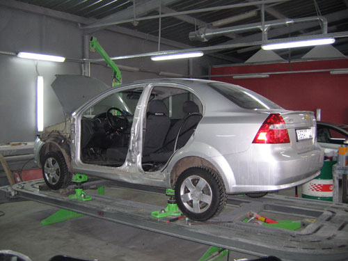 Ремонт кузовных работ автомобилей