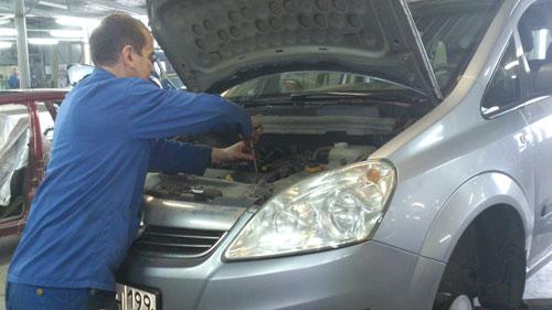 автомобилей опель ремонт