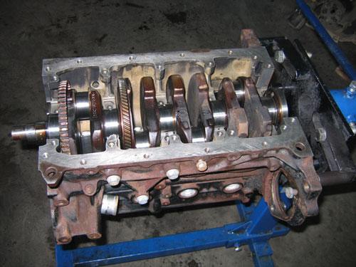 Двигатель шевроле лс